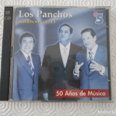 CDs de Música: LOS PANCHOS. SABOR A TI. 50 AÑOS DE MUSICA. DOBLE COMPACTO CON 50 CANCIONES. CBS/SONY. . Lote 177816044