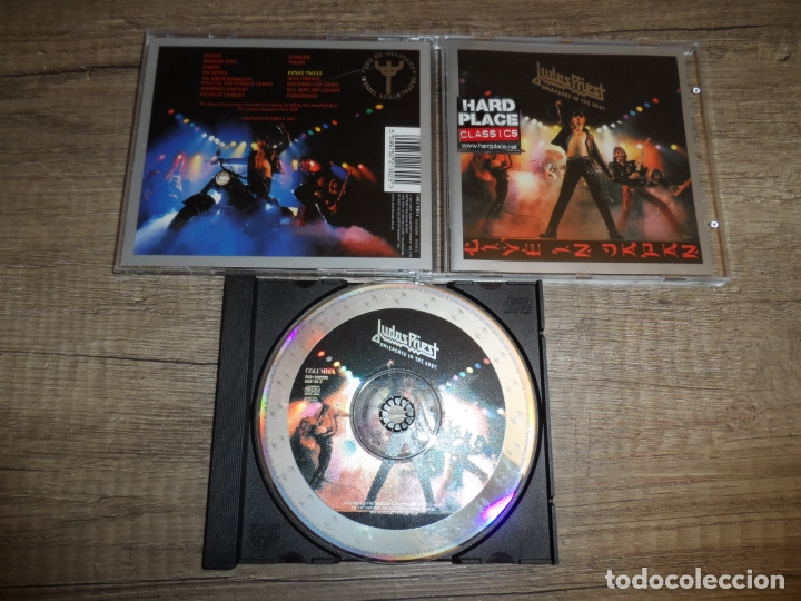 JUDAS PRIEST - UNLEASHED IN THE EAST (LIVE IN JAPAN) (Música - CD's Heavy Metal)