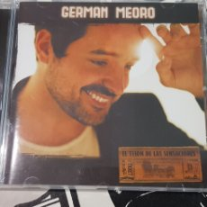 CDs de Música: GERMAN MEORO-EL TELON DE LAS SENSACIONED. Lote 194226613