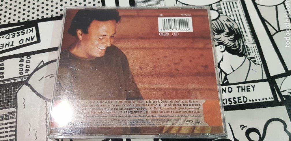 CDs de Música: JULIO IGLESIAS-NOCHE DE CUATRO LUNAS - Foto 2 - 177834050
