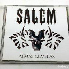 CDs de Música: SALEM - ALMAS GEMELAS - AUDIOVISUALS DE SARRIA - CD FIRMADO POR EL GRUPO. Lote 194359155