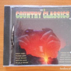 CDs de Música: CD COUNTRY CLASSICS - SANDY POSEY, FRANKIE LAINE, WILLIE NELSON, SKEETER DAVIS... (DR). Lote 177859373