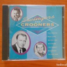 CDs de Música: CD SWINGERS & CROONERS - FRANK SINATRA, PERRY COMO, NAT KING COLE, MATT MONRO... (DR). Lote 177859403