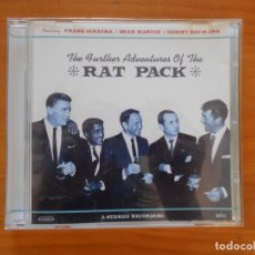 CDs de Música: CD THE FURTHER ADVENTURES OF THE RAT PACK (EG). Lote 177860412