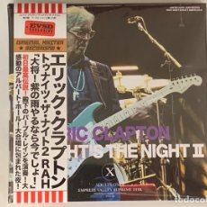 CDs de Música: ERIC CLAPTON - TONIGHT'S THE NIGHT II - 2 CD, ED. LIMITADA, UK 2019, JAPONES, PRINCE. Lote 177863230