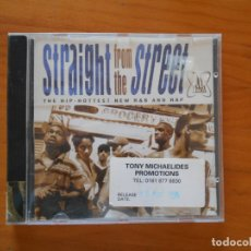CDs de Música: CD STRAIGHT FROM THE STREET - THE HIP-HOTTEST NEW R&B AND RAP (DT). Lote 177864567