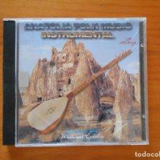 CDs de Música: CD ANATOLIA FOLK MUSIC - INSTRUMENTAL (DT). Lote 177864724