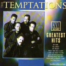 CDs de Música: THE TEMPTATIONS - GREATEST HITS - CD ALBUM - 20 TRACKS - MOTOWN RECORDS 1992. Lote 177872418