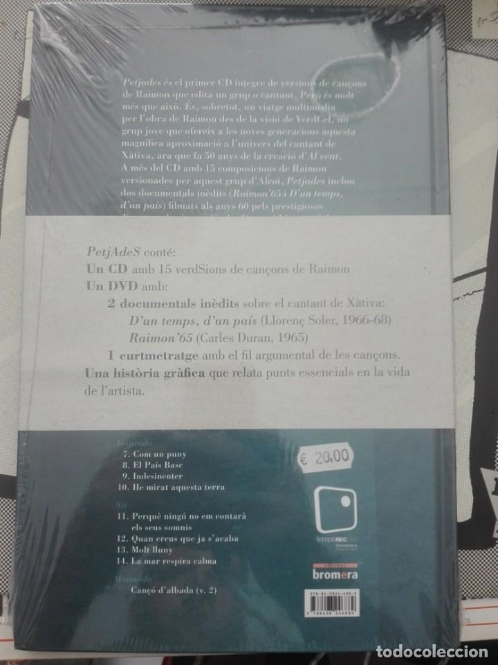 CDs de Música: VERDCEL PETJADES - CANTA RAIMON# - Foto 2 - 177879070