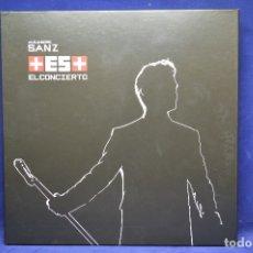 CDs de Música: ALEJANDRO SANZ - +ES+ EL CONCIERTO - CD + DVD + 2 LP. Lote 177880973