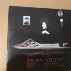 CDs de Música: BUNBURY UNPLUGGED. EL LIBRO DE LAS MUTILACIONES CD + DVD. Lote 177953929