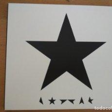 CDs de Música: DAVID BOWIE BLACKSTAR CD LIBRETO. Lote 177954782