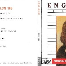 CDs de Música: ENGELBERT HUMPERDINCK - I LOVE YOU - DESCATALOGADO. Lote 177963347
