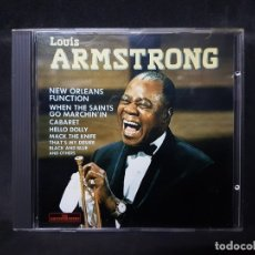CDs de Música: LOUIS ARMSTRONG NEW ORLEANS FUNCTION 1 CD. Lote 177976875
