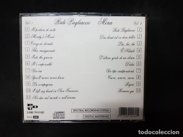 CDs de Música: Ridi Lagliaccio Mina Vol. 1/2 - 2 CDs - Foto 3 - 177980817