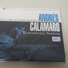 CDs de Música: JJ10- ANDRES CALAMARO ROMAPHONIC SESSIONS CD NUEVO REPRECINTADO LIQUIDACION!!!. Lote 177986622