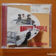 CDs de Música: CD GHETTO PEOPLE FEAT. L-VIZ (1H). Lote 177987014