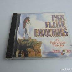 CDs de Música: PAN FLUTE FAVOURITES CD. Lote 178008005