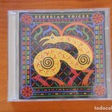 CDs de Música: CD GEORGIAN VOICES - THE RUSTAVI CHOIR (4Q). Lote 178013094