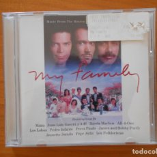 CDs de Música: CD MY FAMILY - MUSIC FROM THE MOTION PICTURE SOUNDTRACK (W4). Lote 178045982