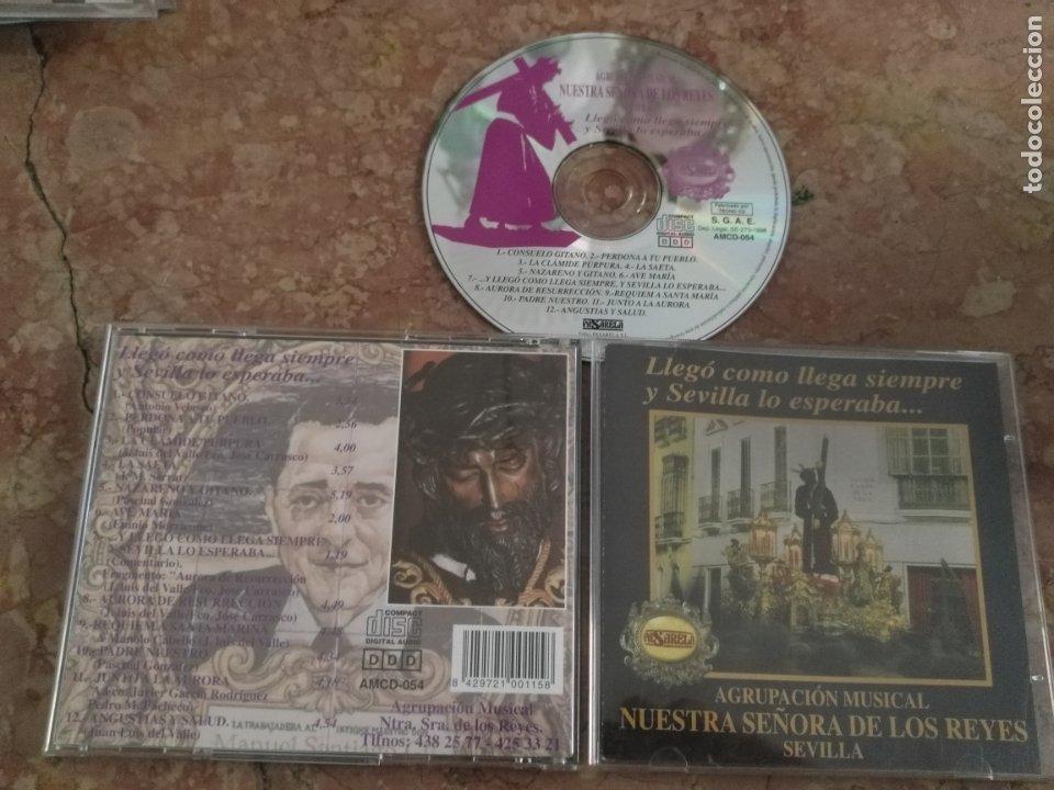 CD SEMANA SANTA - AGRUPACION MUSICAL NUESTRA SEÑORA VIRGEN DE LOS REYES , SEVILLA PASARELA (Música - CD's Otros Estilos)