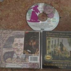 CDs de Música: CD SEMANA SANTA - AGRUPACION MUSICAL NUESTRA SEÑORA VIRGEN DE LOS REYES , SEVILLA PASARELA. Lote 178048530