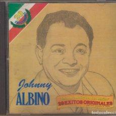 CDs de Música: JOHNNY ALBINO CD TESOROS MUSICALES DE MÉXICO 1990 20 ÉXITOS ORIGINALES LOS PANCHOS. Lote 178052689