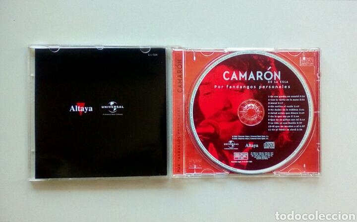 CDs de Música: Camaron de la isla - Por fandangos personales, Ediciones Altaya, 2000. EU. - Foto 2 - 178083923
