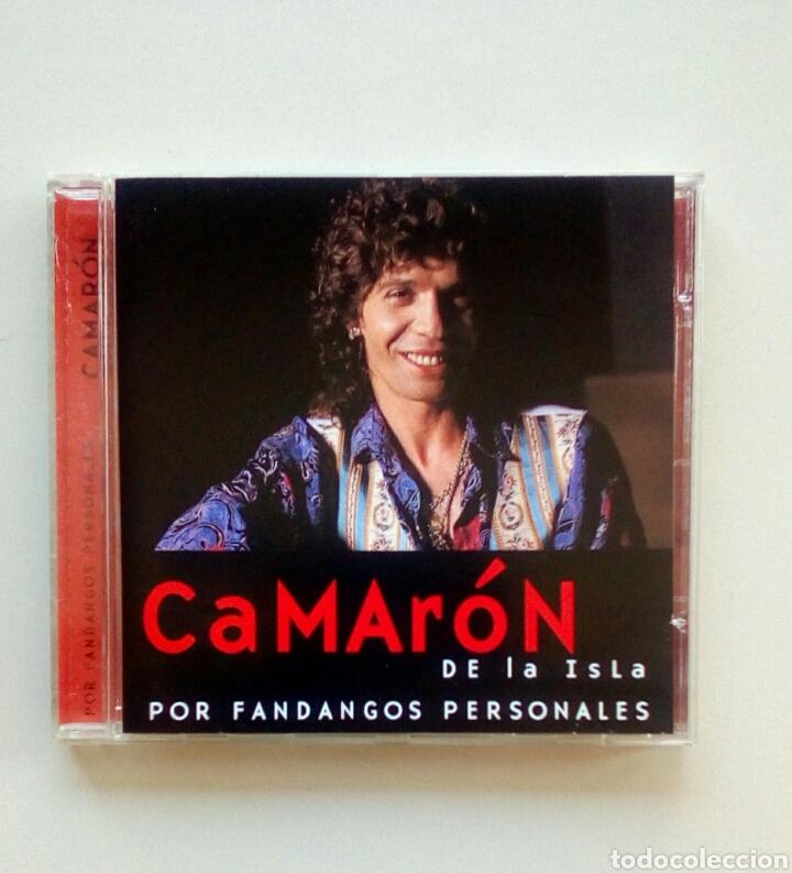 CAMARON DE LA ISLA - POR FANDANGOS PERSONALES, EDICIONES ALTAYA, 2000. EU. (Música - CD's Flamenco, Canción española y Cuplé)