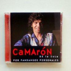 CDs de Música: CAMARON DE LA ISLA - POR FANDANGOS PERSONALES, EDICIONES ALTAYA, 2000. EU.. Lote 178083923