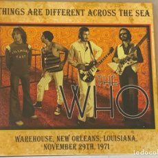 CDs de Música: THE WHO - THINGS ARE DIFFERENT ACROSS THE SEA - 1 CD, LOUISIANA 1971. Lote 178090524