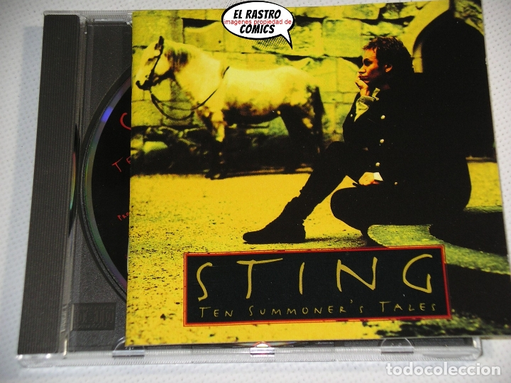 Sting Ten Summoner S Tales Cd Ex Police Buy Cd S Of Pop Music At Todocoleccion 178090553
