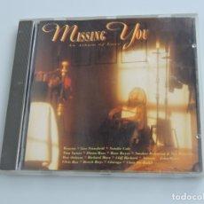 CDs de Música: MISSING YOU AN ALBUM OF LOVE CD . Lote 178093180