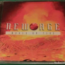 CDs de Música: CD NEW AGE - WORLD ON FIRE ***PERFECTO ESTADO***. Lote 178094058