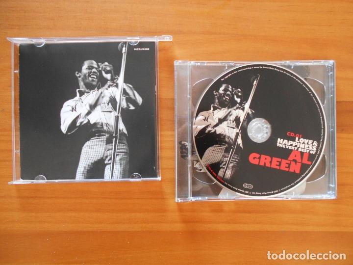 CDs de Música: CD LOVE & HAPPINESS - THE VERY BEST OF AL GREEN (2 CD'S) (Q5) - Foto 2 - 178099284