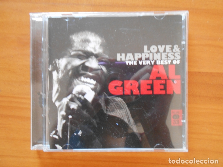 CD LOVE & HAPPINESS - THE VERY BEST OF AL GREEN (2 CD'S) (Q5) (Música - CD's Jazz, Blues, Soul y Gospel)