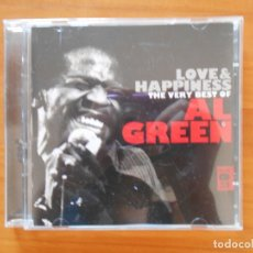 CDs de Música: CD LOVE & HAPPINESS - THE VERY BEST OF AL GREEN (2 CD'S) (Q5). Lote 178099284