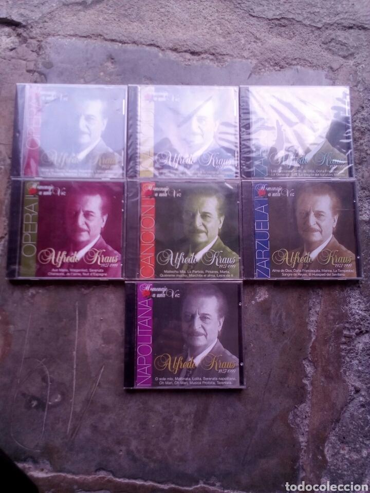 ALFREDO KRAUS (Música - CD's Clásica, Ópera, Zarzuela y Marchas)