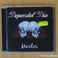 CDs de Música: DEPENDEL DIA - MARTES - CD. Lote 178105110