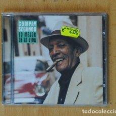 CDs de Música: COMPAY SEGUNDO - LO MEJOR DE LA VIDA - CD. Lote 178105483