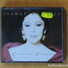 CDs de Música: ISABEL PANTOJA - CANCION ESPAÑOLA - CD. Lote 178105562