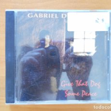 CDs de Música: CD GABRIEL DORMAN - GIVE THAT DOG SOME PEACE (R6). Lote 178111855