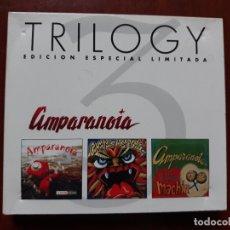 CDs de Música: AMPARANOIA TRILOGY- EL PODER DE MACHIN/FERIA FURIOSA/LLÁMAME MAÑANA- CD EDICIÓN LIMITADA 2005. Lote 178145463