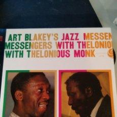 CDs de Música: ART BLAKEY'S JAZZ MESSENGERS* WITH THELONIOUS MONK – ART BLAKEY'S JAZZ MESSENGERS WITH THELONIOUS M. Lote 178150120