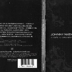CDs de Música: JOHNNY MATHIS - A NIGHT TO REMEMBER. Lote 178156952