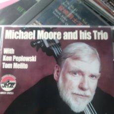 CDs de Música: MICHAEL MOORE AND HIS TRIO – THE HISTORY OF JAZZ, VOLUME 1. Lote 178176273