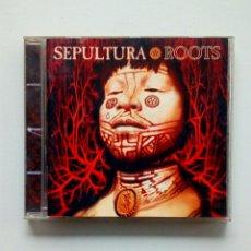 CDs de Música: SEPULTURA - ROOTS, ROADRUNNER RECORDS, 1996. GERMANY.. Lote 178190472