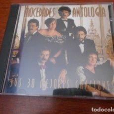 CDs de Música: 2 CD MOCEDADES ANTOLOGIA -SUS 30 MEJORES CANCIONES. Lote 178190867