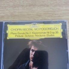 CDs de Música: CHOPIN-POGORELICH. . Lote 178194263