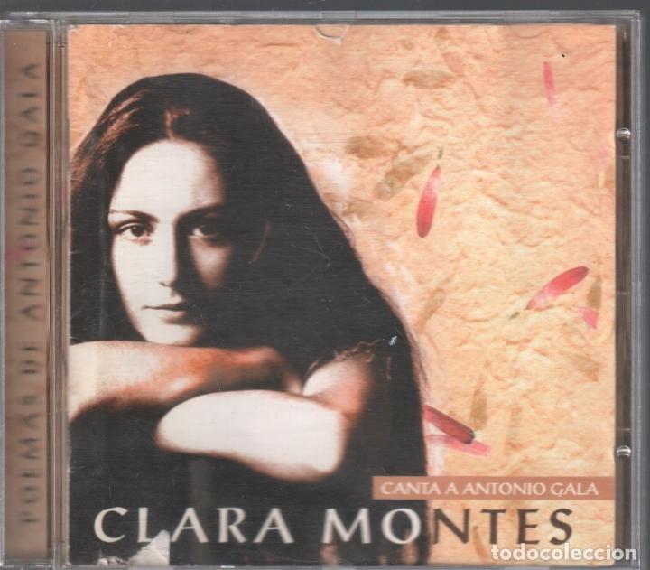 CLARA MONTES CANTA A ANTONIO GALA / CD DE 1998 RF-3103 (Música - CD's Otros Estilos)